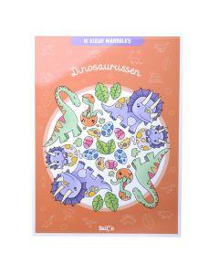 Ik kleur mandala's - Dinosaurussen