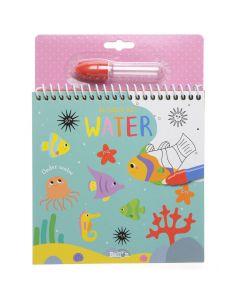 Kleuren met water - Onder water