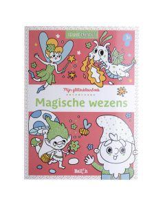 3+ Glitterkleurboek - Magische wezens
