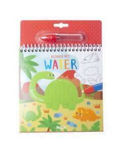 4+ Kleuren met water - Dinosaurussen