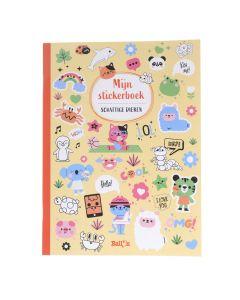 Mijn stickerboek - Schattige dieren