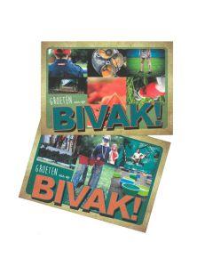 Bivakpostkaart 17 assortiment 20 stuks