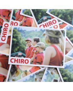Bivakpostkaart 18 Chiropet 20 stuks