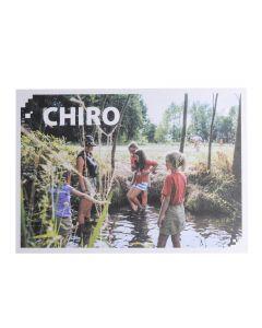 Bivakpostkaart 19 rivierspel 20 stuks