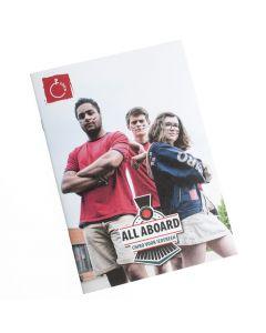 Brochure All Aboard - Chiro voor iedereen (diversiteit)