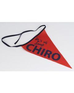 Fietswimpel als je 't mij vraagt Chiro