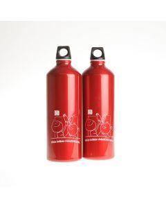 Drinkbus Wilsa 1000 ml rood opdruk Chiro