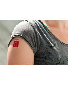 Phake tatoeage Chiro 4 stuks
