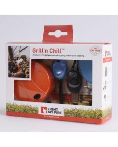 Grill'n Chill Kit met Firefork, -steel & cup