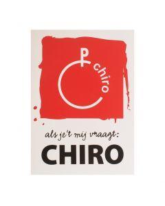 Wandsticker groot Chiro 100 x 70 cm