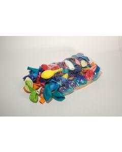 Ballon pastel 22 cm 100 stuks assortiment