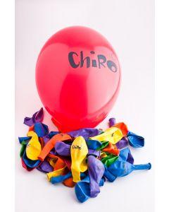 Chiroballon 50 stuks assortiment