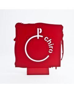 Sfeerlogo Chiro rood