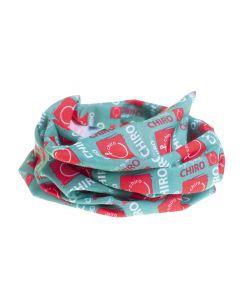 Multifunctioneel sjaaltje Chiro groen rakwi