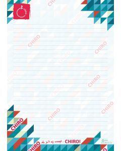 Blocnote Chiro A4, 50 vel eco 90 g