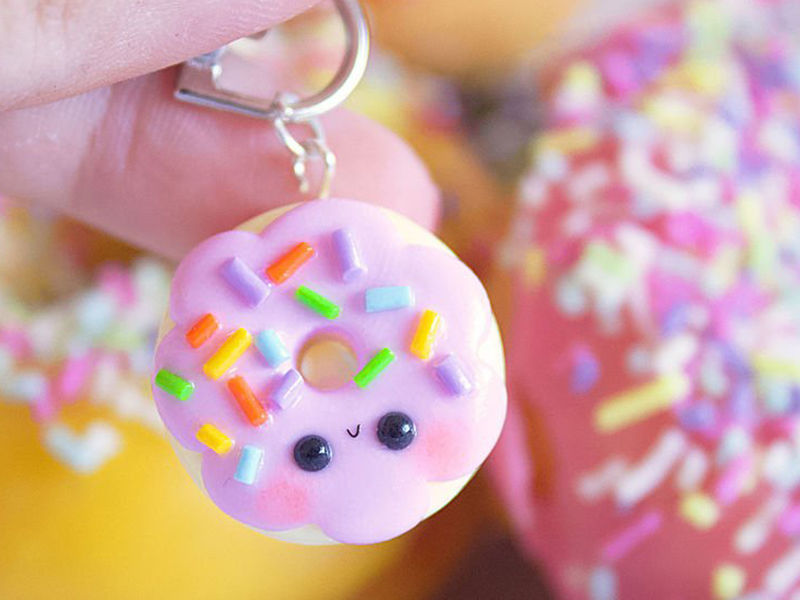 KNUTSELTIP: Kawaii mini donuts