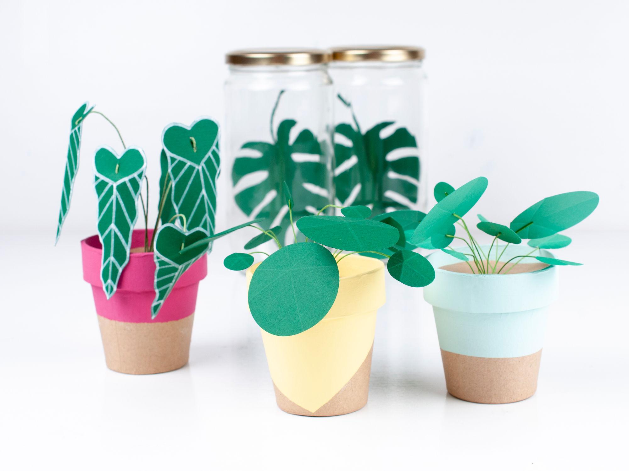 KNUTSELTIP: Papieren plantjes
