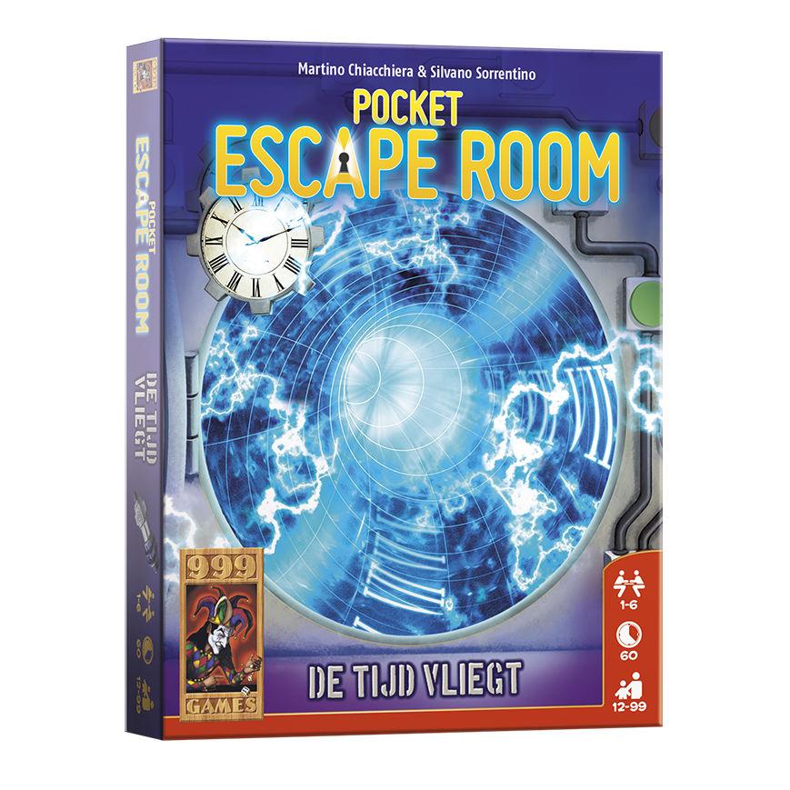 Pocket Escape Room – De Tijd Vliegt