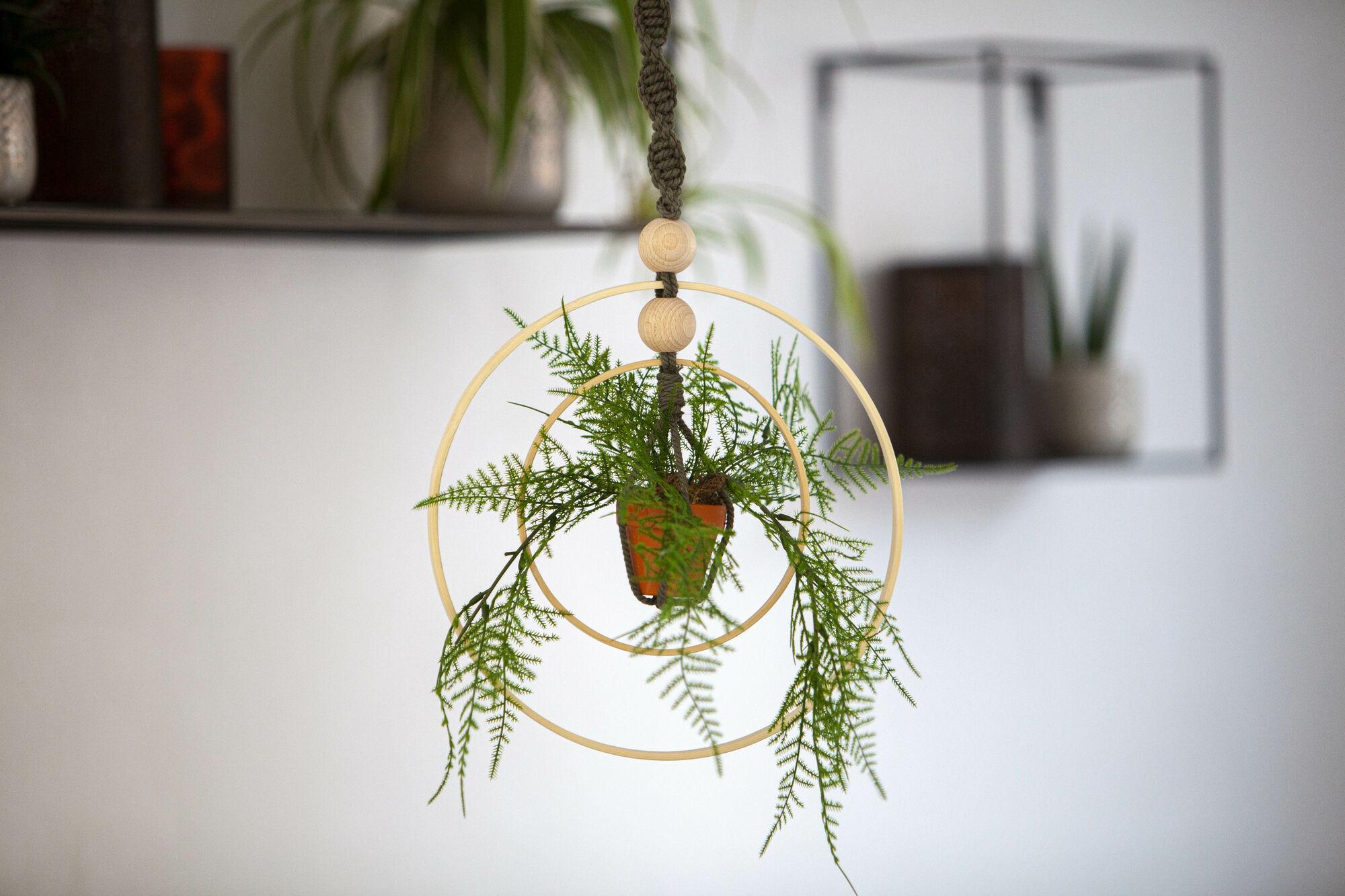 KNUTSELTIP: Macramé plantenhanger