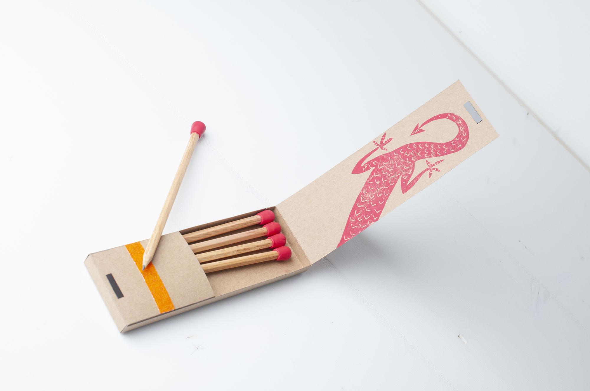 KNUTSELTIP: lucifer potloden