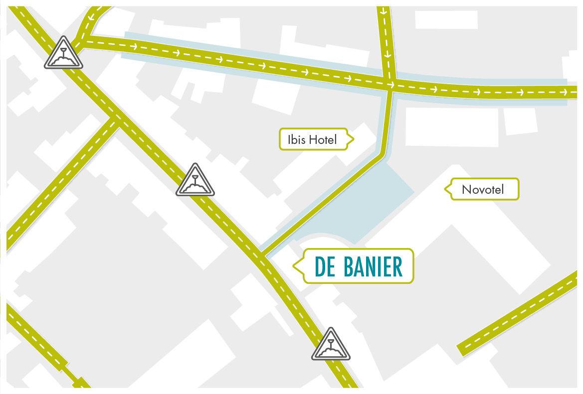 Wegomleiding Brugge